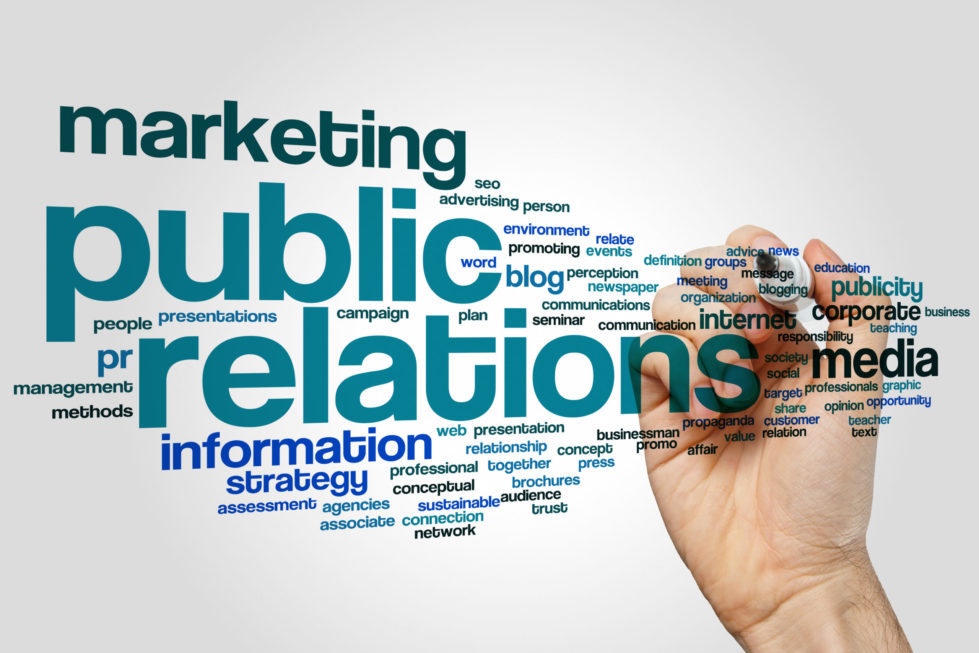 marketing terms written on a transparent background